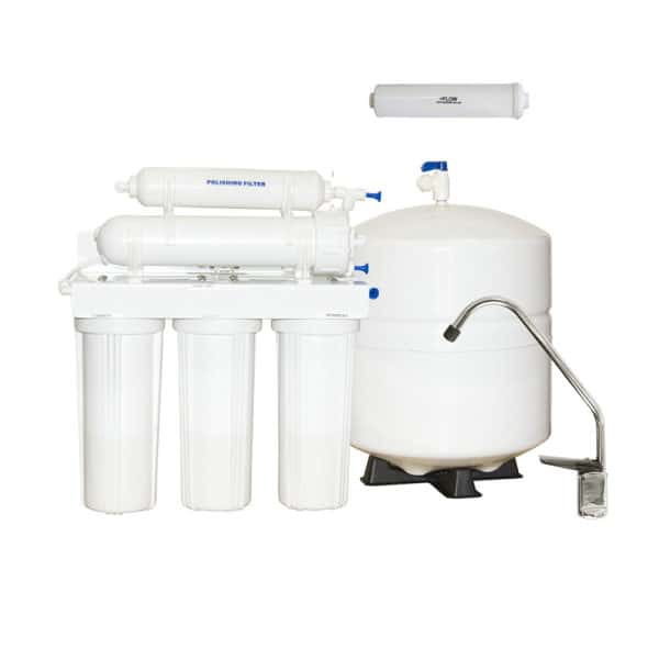 6 Stage RO System With UV Lamp